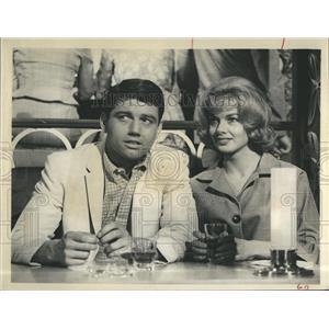 "1961 Press Photo Leslie Parrish in""Acapulco"" - RSH97179"