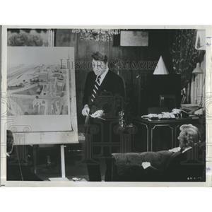 "1963 Press Photo Burt Lancaster in ""Executive Action"" - RSH98525"