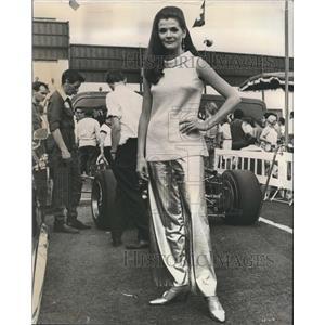1968 Press Photo Actress Jessica Walter.