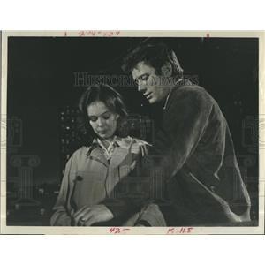 1968 Press Photo Sandy Dennis & Michael Parks Star In A Hatful Of Rain