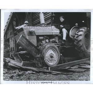 Press Photo The Midnight Man Burt Lancaster Television Film Actor - RSH98537