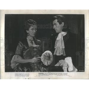 1950 Press Photo Flora Robson and Stewart Granger A story of a court Scandal