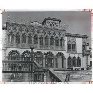 Press Photo Ringling Mansion Sarasota Florida - RSH94023