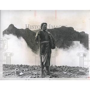 1975 Press Photo Burt Lancaster Moses - The Lawgiver - RSH98491