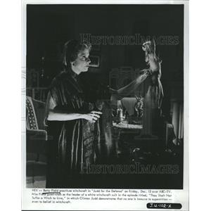 1968 Press Photo Betty Field Judd For The Defense Television Actress
