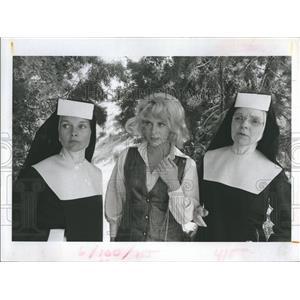 """1971 Press Photo Carol Lunley in """"Weekend of Terror"""" - RSH97271"""