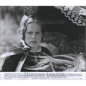 "1974 Press Photo Liv Ullmann stars in the movie ""Zandy's Bride"" - RSH98391"