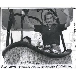 1979 Press Photo Mike Thomas Hot Air Balloon Poilot - RSH96671