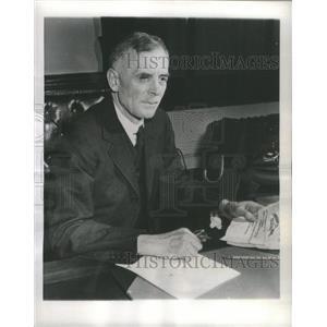 1944 Press Photo Canada's new Defence Minister McNaughton. - RSC70755