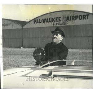 1964 Press Photo Priester Pal-Waukee Airport - RRW52647