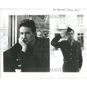 1959 Press Photo Jacques Charrier French Actor Brigitte