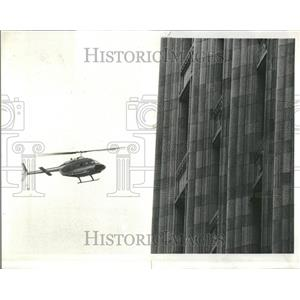 1978 Press Photo Helicopter Michigan West German - RRR86275