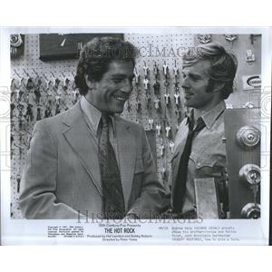 1972 Press Photo George Segal Actor