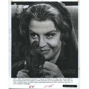 1968 Press Photo Betty Field Actress Judd For The Defense Television