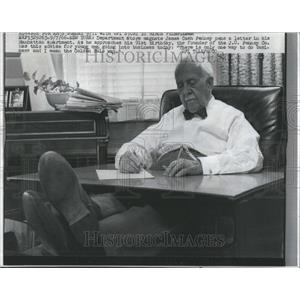 1966 Press Photo James Cash Penney