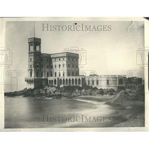 1922 Press Photo Where Lloyd will live in Genoa - RRR87651