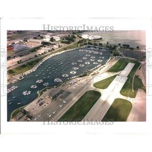 1996 Press Photo Airport Chicago SIte Century Peninsula - RRR90367
