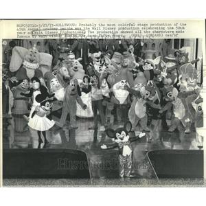 1973 Press Photo Walt Disney Productions