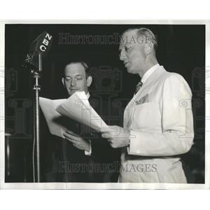 1937 Press Photo Radio Programs NBC Minstrels - RRR91321