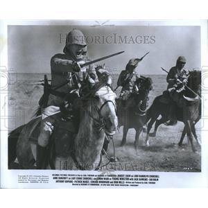 "1972 Press Photo Actor Robert Shaw ""Young Winston"""