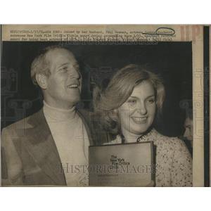 1974 Press Photo  Joanne Woodward New York Film