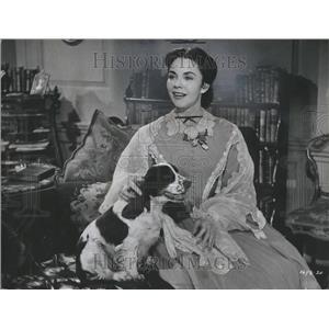 1957 Press Photo Jennifer Jones Phylis Lee Isley Actres - RRR94189