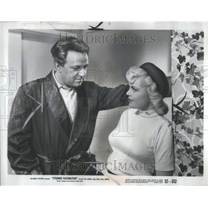 1952 Press Photo Strange Fascination Cleve Moore Actor