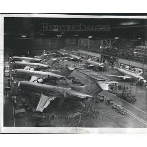 1977 Press Photo Boeing Company