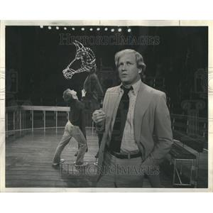 1976 Press Photo Studebaker Theatre Kichael Horse Ken