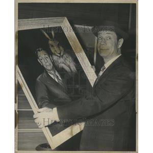 1962 Press Photo Joseph Evans Brown American Actor Come - RRR97723