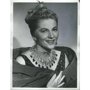 1966 Press Photo Joan Fontaine Actress Olivia Sister - RRR98179