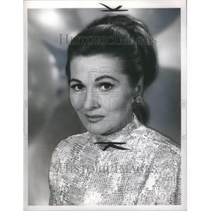 1967 Press Photo Joan Fontaine Actress Hollywood Award