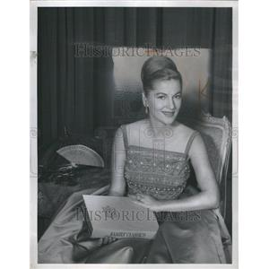 1960 Press Photo Joan Fontaine Actress Sister Younger - RRR98187