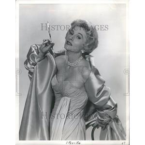 1960 Press Photo Joan Fontaine Ladies Actress Hollywood - RRR98195