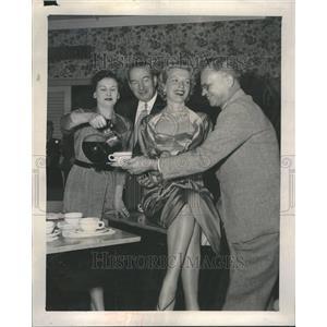 1953 Press Photo Carole Mathews Calumet High School