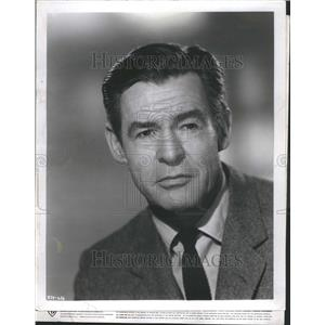 1961 Press Photo Robert Ryan American Actor Mabel Bushn