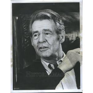 1973 Press Photo Robert Bushnell Ryan  Will Geer John