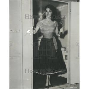 1955 Press Photo Parker Cedarville graduate of Shaw - RRR98385