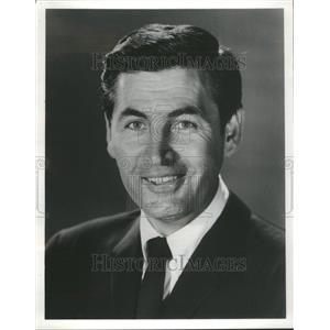 1962 Press Photo Fess Elisha Parker Actor Television