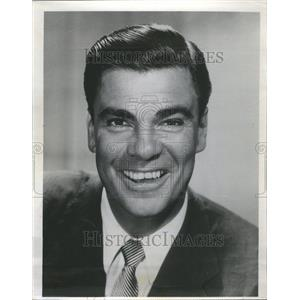 1962 Press Photo Bert Parks Actor Singer Radio Announce