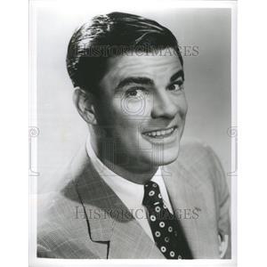1959 Press Photo Bert Parks Actor Singer Radio Telecast - RRR98505