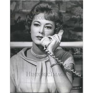 1962 Press Photo Eleanor Parker