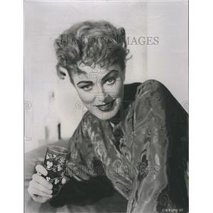 1957 Press Photo Eleanor Parker  American Screen