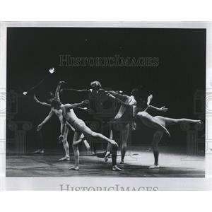 1972 Press Photo Viola Farber Dance Company