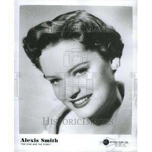 1954 Press Photo Alexis Smith - Actress