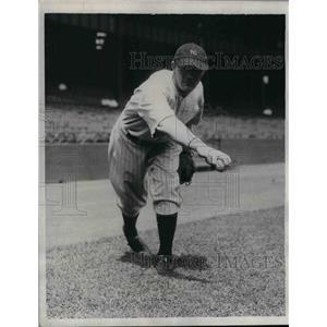 1934 Press Photo NY Yankees pitcher, Johnny Broach - nea07711