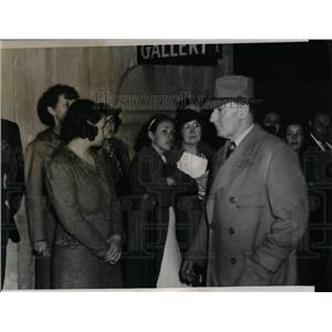 1937 Press Photo Fred Stone Movie Actors Guild - nea15994