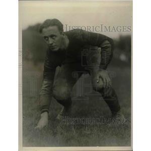 1927 Press Photo College Football Player Joe Prudery On Field - nea14083