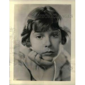 1932 Press Photo Mitzi Green, Ten Year Old Star