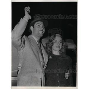 1938 Press Photo Socialite Mary Borel & actor husband Alan Marshal